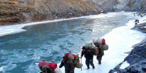 Chadar Trek or Frozen River Zanskar Trek, Ladakh