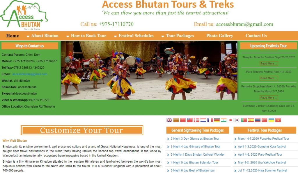 Advance Bhutan Tours and Treks