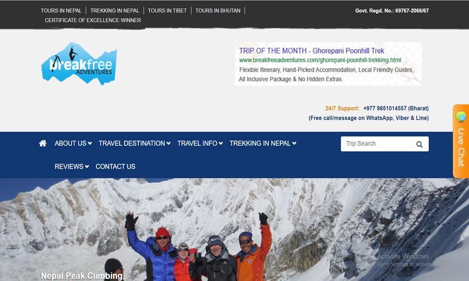 Breakfree Adventure Pvt. Ltd.