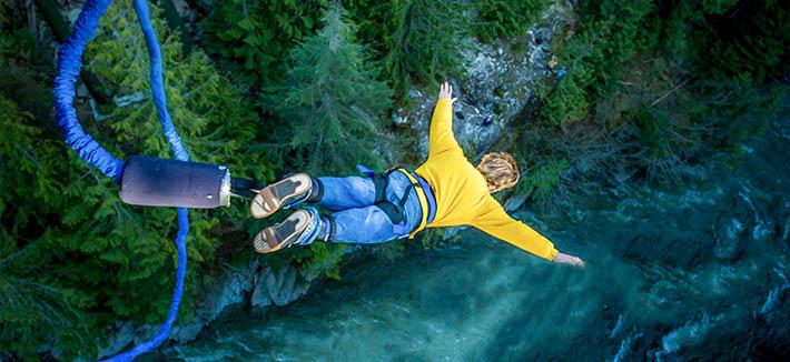 Bungee Jumping- Bhote Kosi River