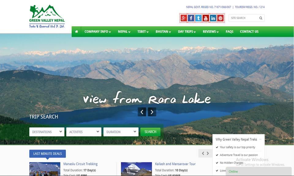 Green Valley Nepal Trekking Pvt. Ltd.
