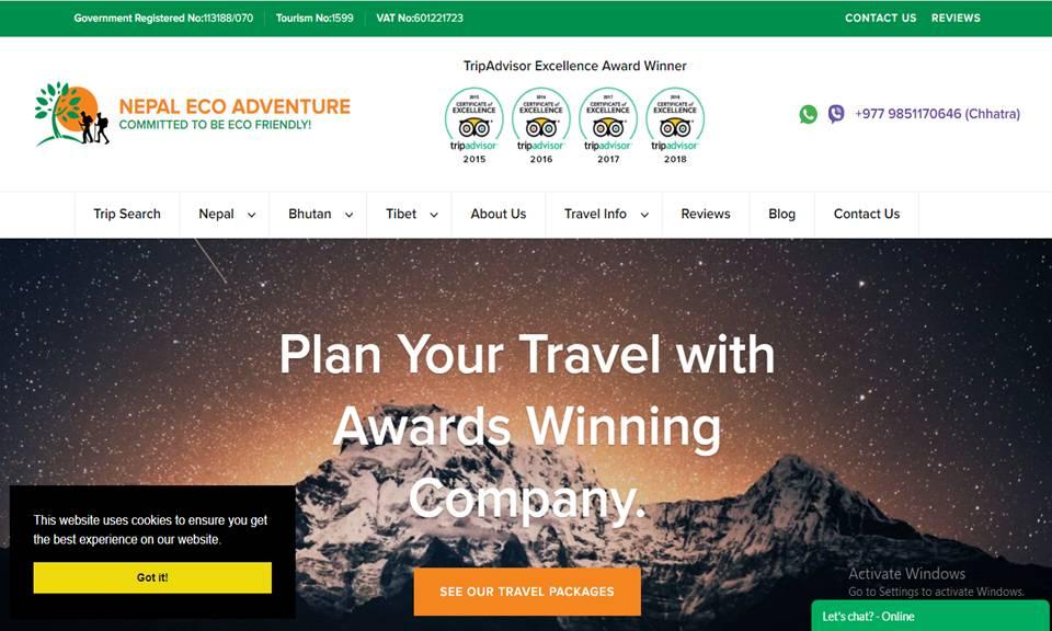 Nepal Eco Adventures Pvt. Ltd.