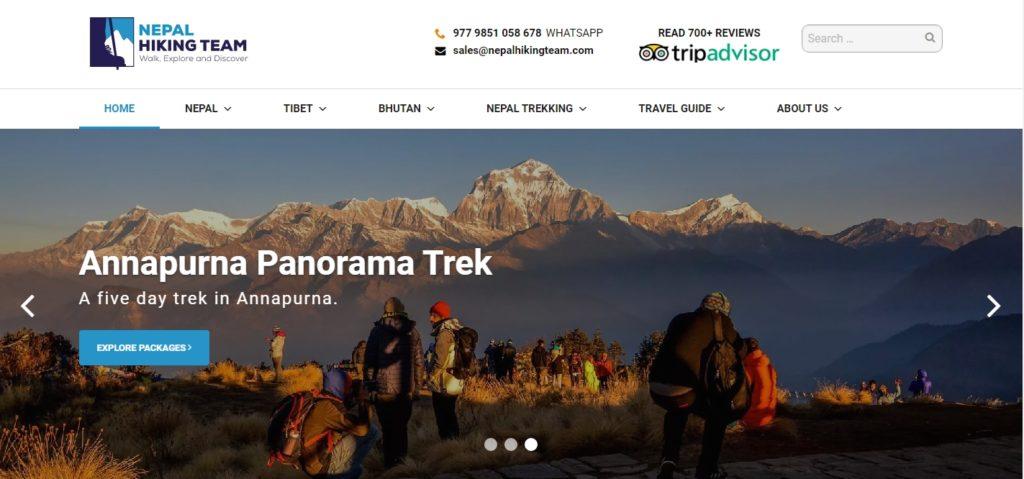 Nepal Hiking Team