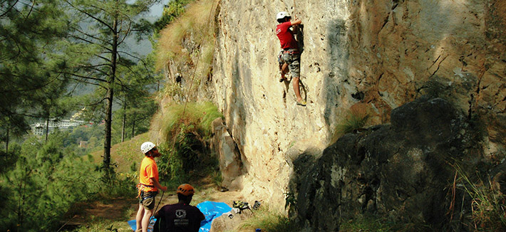 Rock Climbing - Hattiban