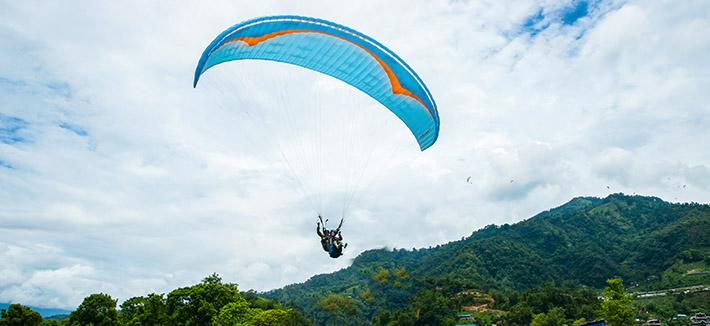 Skydiving- Gorak Shep